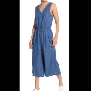 BNWT Splendid wide leg chambray jumpsuit